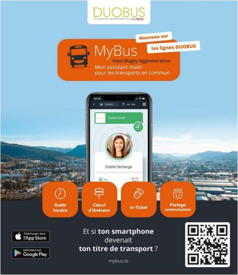 My bus - Application Haut Bugey Agglomération