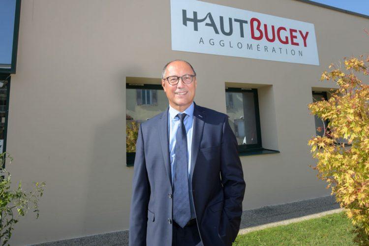 Jean Deguerry - Président de Haut Bugey Agglomération