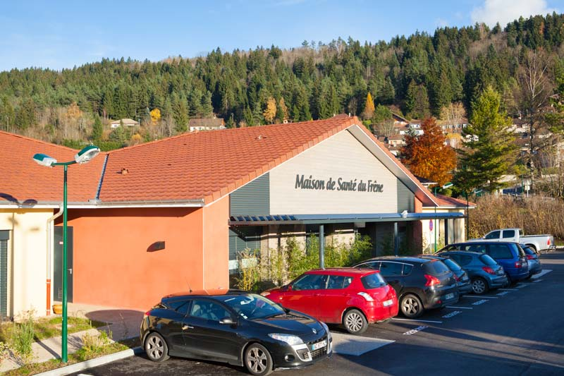 Maison de santé du Frêne à St Martin - Haut Bugey Agglomeration