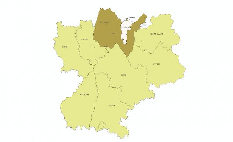 Territoire du Haut Bugey - Ain