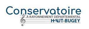 Logo du conservatoire à rayonnement département du Haut-Bugey